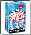 University Games - Big Brain Academy Card Game (Tin) by UNIVERSITY GAMES