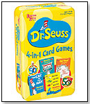University Games - Dr. Seuss 4–in–1 Card Games (Tin) by UNIVERSITY GAMES