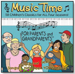 All Four Seasons Music Time for Parents and Grandparents by ROBYN DUPUIS ENTERPRISES LLC