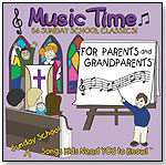 Sunday School Music Time for Parents and Grandparents by ROBYN DUPUIS ENTERPRISES LLC