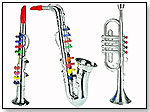 "Bontempi Saxophone, Trumpet and Clarinet Trio 16"" by INTEGRATED GLOBAL SOLUTIONS, INC."