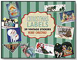 Christmas Labels – 39 Vintage Stickers by LAUGHING ELEPHANT