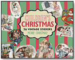 Children's Christmas – 26 Vintage Stickers by LAUGHING ELEPHANT