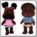 Ishababies® Mocha Boy and Girl by AISHA & CO. LLC