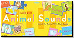 Animal Sounds Puzzle Pairs by eeBoo corp.