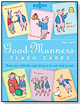 Good Manners Flash Cards by eeBoo corp.