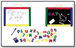Magnetic Chalkboard and Dry Erase Board by MELISSA & DOUG