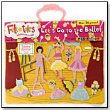 FeltTales™ Let's Go to the Ballet Storyboard by BABALU INC.