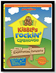Kibbles Rockin' Clubhouse: Vol 1. Expressing Yourself by NOTEABILITIES INC.