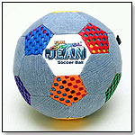 Fun Gripper Jean Soccer Ball by SATURNIAN 1 INC.