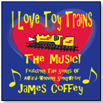 I Love Toy Trains - The Music! by BLUE VISION MUSIC LLC