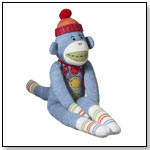 """Casey"" Medium Blue Sock Monkey by MIDWEST OF CANNON FALLS INC"