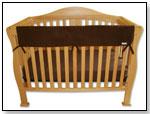 CribWrap Convertible Crib Rail Cover by TREND LAB, LLC