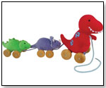Dino Pull Toy by RICH FROG INDUSTRIES