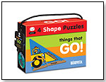 4 Shape Puzzles, Things That Go! by BRIARPATCH INC.
