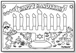 Hanukkah Scribble Mat! by SCRIBBLE MATS