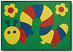 Lauri Caterpillar Crepe Rubber Puzzle for Wood Graduates by PATCH PRODUCTS INC.
