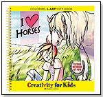 I Love Horses Coloring & ARTivity Book by FABER-CASTELL