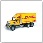 MACK Granite Truck with interchangeable container DHL by BRUDER TOYS AMERICA INC.