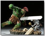 Planet Hulk: Green Scar vs. Silver Savage by SIDESHOW COLLECTIBLES
