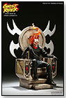 Ghost Rider on Throne by SIDESHOW COLLECTIBLES