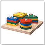 Geometric Sorting Board by PLANTOYS