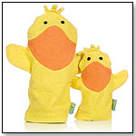 Organic Mommy & Baby Wash Mitts - Frog/Duck by RICH FROG INDUSTRIES