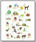 Nature Themed Alphabet Poster by CHILDREN INSPIRE DESIGN