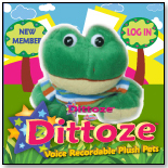 "Dittoze Voice Recordable 5"" Plush with Online Playground - Frog by BLAYCHON, LLC"