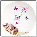 Wall Stickers Small Kit - Shimmer Butterflies by MIMILOU