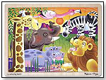 African Plains Jigsaw Puzzle by MELISSA & DOUG