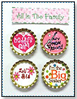 Snap Caps® All in the Family by m3 girl designs LLC