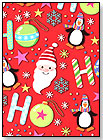 Ho Ho Ho Wrapping Paper by ARTIST POINT GIFTWRAP