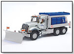 Mack Granite Winter Service with Snow Plow by BRUDER TOYS AMERICA INC.