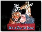 """""""It's a Zoo in Here"""" Porcelain Night Light by UNIQUE PRODUX INC."""