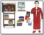 Deluxe Librarian Action Figure by ACCOUTREMENTS