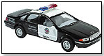 Die-Cast Pull-Back Police Car by SCHYLLING