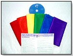 Award Winning – Rainbow Scarf Mini Pack With CD by ARTS EDUCATION IDEAS
