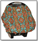 Sprout Shell Infant Carrier Cover - Orange Kashmir by SPROUT SHELL