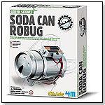 Green Science - Soda Can Robug by TOYSMITH