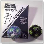 Mega Metal Dirtbag® - Blue/Green Footbag by FLYING CLIPPER