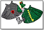 Reversible Knight/Dragon Cape &  Reversible Knight/Dragon Hood by CREATIVE EDUCATION OF CANADA