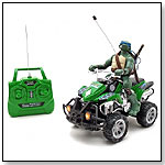 Full-Function R/C TMNT ATV Rider (Leonardo) by NKOK INC.