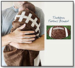 Sports Baby Blankets - Touchdown Football Blanket by TEAMEES