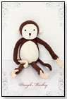 Dangle Monkey by I LOVE MY PLANET TOYS