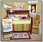 Elephant Brigade Baby Bedding by COTTON TALE DESIGNS INC.