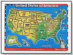 United States of America Sound Puzzle by MELISSA & DOUG