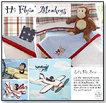 High-Flying Monkey Bedding by PEEK A BOO ROOMS INC.