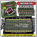 Decision Day Fantasy Football� Board Game by GDC-GameDevCo Ltd.