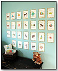 Eco Friendly Alphabet Wall Cards by CHILDREN INSPIRE DESIGN